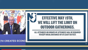 Limits on outdoor gatherings lifted