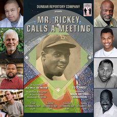 Middletown Arts Center Rich in Culture and the Arts, Hosts Dunbar Repertory Company's production of Mr. Rickey Calls a Meeting