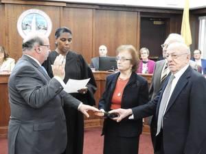 Carousel image 960180859eb5c0915e43 mayor pat menna sworn in by federal judge susan wigenton