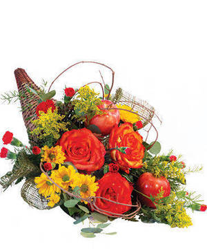 Carousel image ac19c2152bcd88321b70 majestic cornucopia floral arrangement ba09919.365