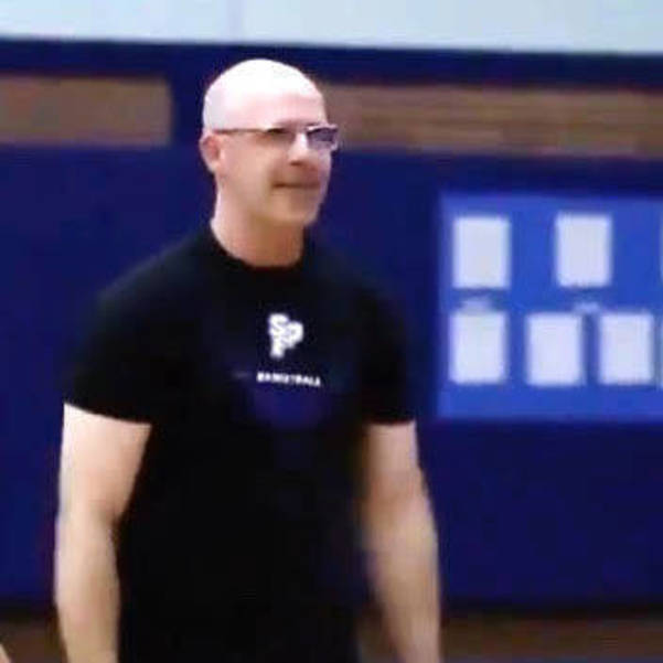 Scotch Plains-Fanwood High School varsity girls basketball coach Ryan McKenna.