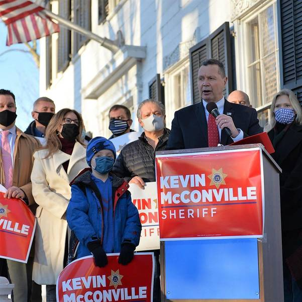 McConville Throws Hat in Ring For Sheriff's Race