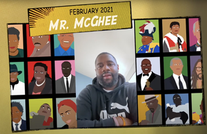 Linden Teacher Highlights Local Heroes for Black History Month (Videos)