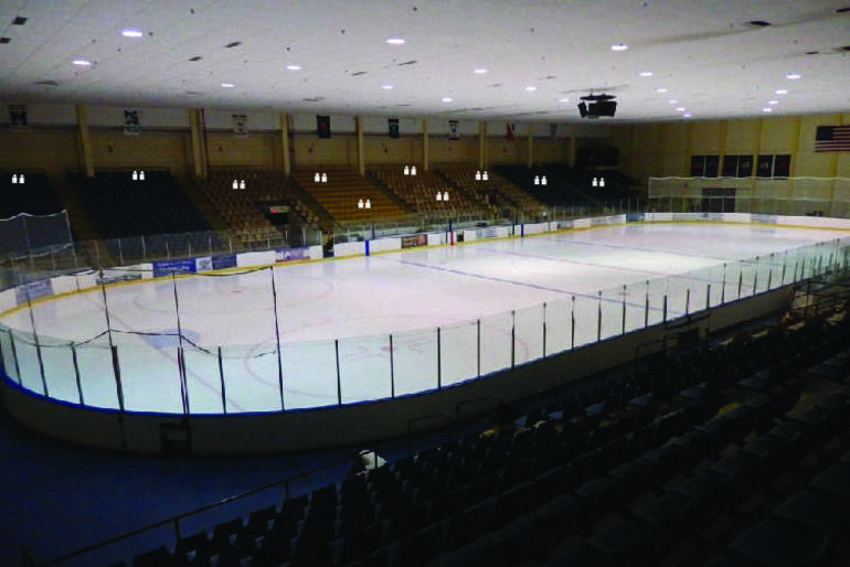 Roxbury hockey, Roxbury COVID-19, Mennen Arena, Roxbury High School ice hockey