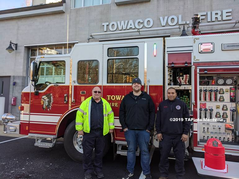 Members of the Towaco Vol. Fire Dept. ©2019 TAPinto Montville.jpg