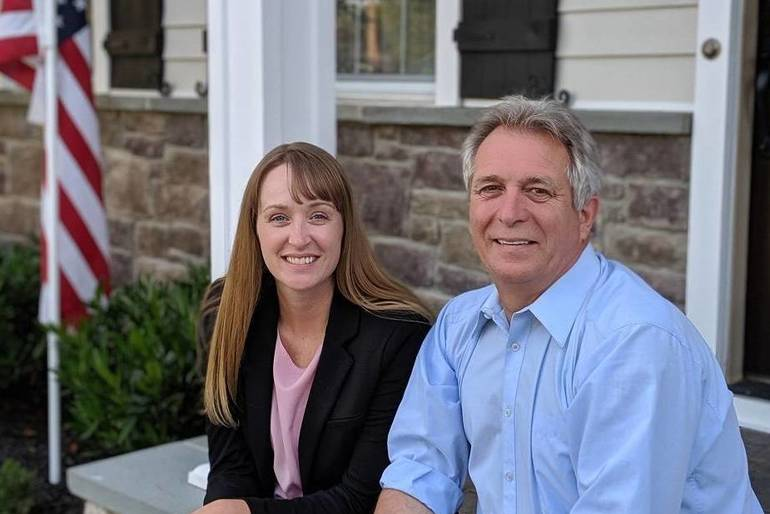 Melanie Mott and Pete Smith - Council Candidates