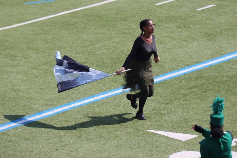 Metuchen Marching Band Competition 2019