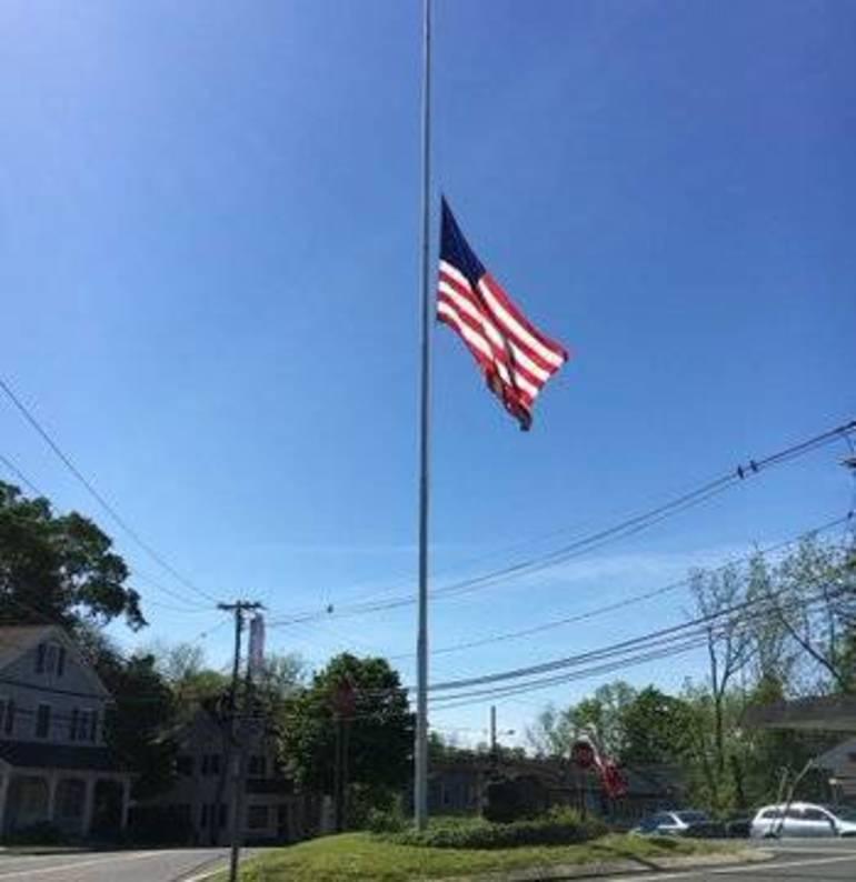 Memorial Day flag
