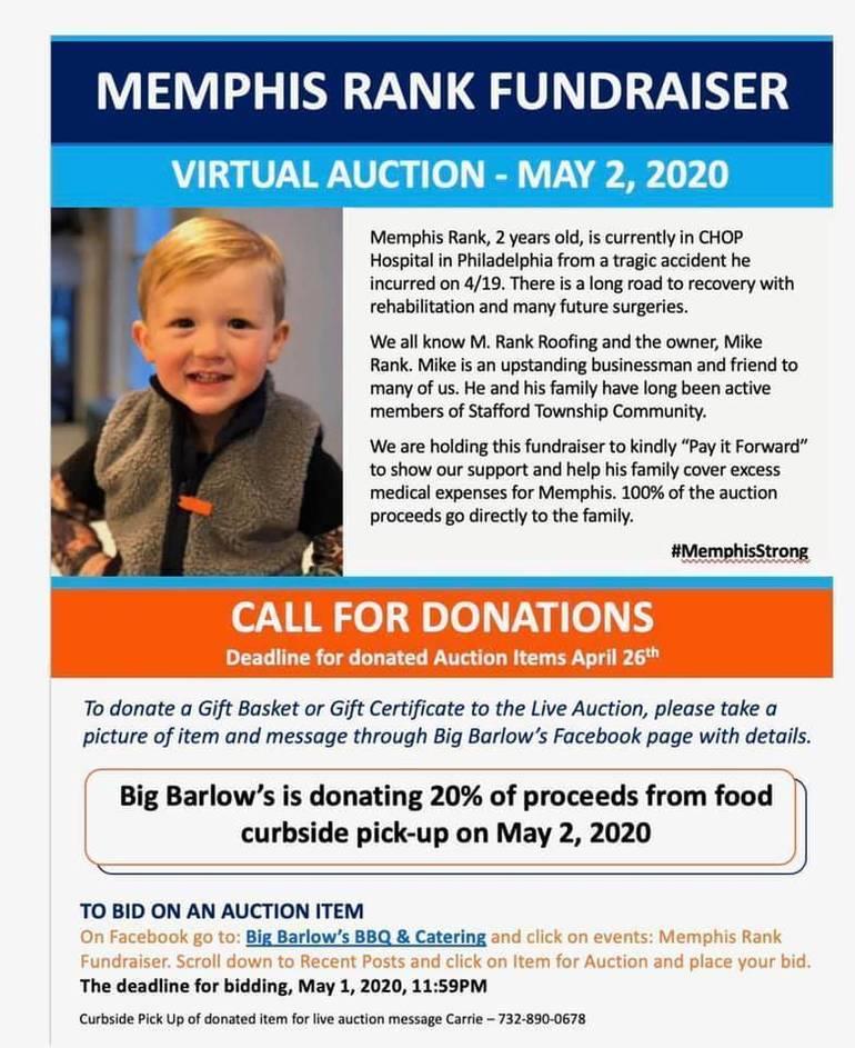 Memphis Rank Fundraiser Flyer