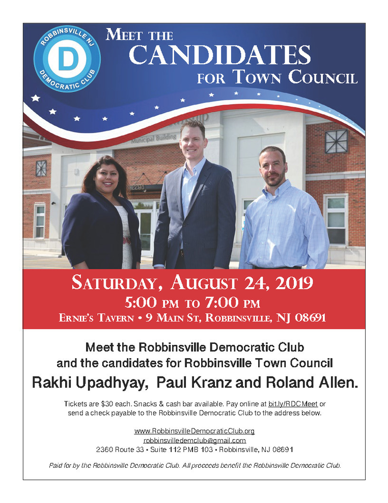 Fundraiser/Meet the Candidates
