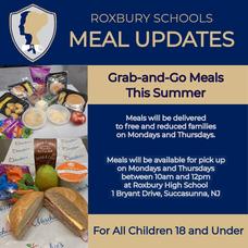 Meal Updates for Roxbury Schools
