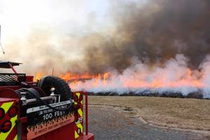 Prescribed Burn Scheduled by County Park Commission for Mercer Meadows
