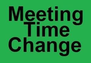 Carousel image b3101197e1149621d4bc meeting time change