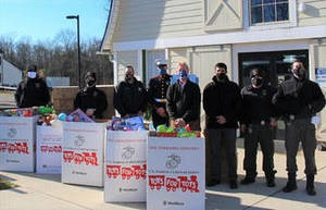 Mercer County Brings Holiday Cheer Through Toys for Tots Program