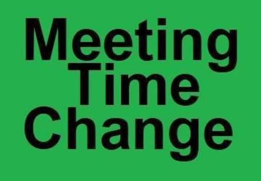 Top story 101061461236c3d23d02 meeting time change
