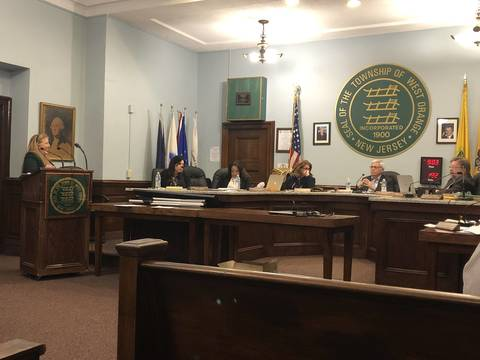 Top story 92bbfd9794495f7518a9 megan brill addressess the town council