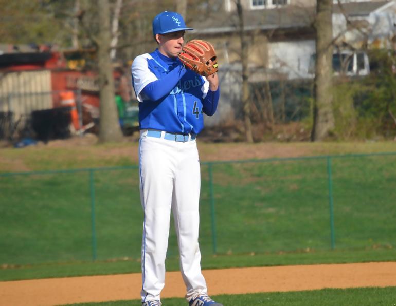 2020 Scotch Plains-Fanwood Baseball League Gene DeCavalcante Memorial Scholarship winner Michael Urbano