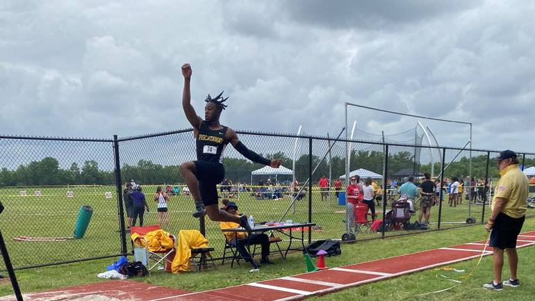 Piscataway HS Group 4 Track: Mitchell Wins Long Jump; others also Qualify for M of C