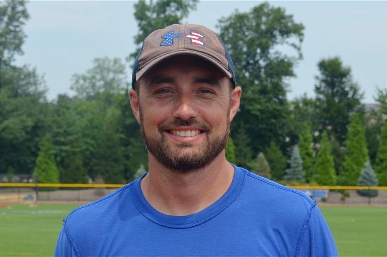 Mike McCabe, Union Catholic track coach.png