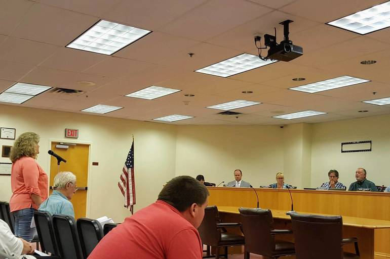 Roxbury Council Urges School Closings on Election Days