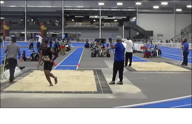Piscataway HS Track & Field: Seniors Mitchell, Engels Compete at Adidas Indoor Nationals