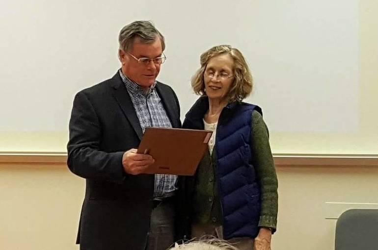 Roxbury Thanks Mirrian Morris for Years of Historic Trust Effort