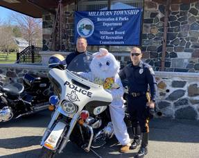 Millburn Recreation Department Hosted Meet & Treat with the Easter Bunny