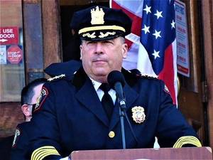 After Three Decades of Service, Jersey City Police Chief Mike Kelly to Retire