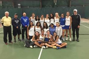 Carousel image 86f2b7654c7dc822c7a3 millburn girls tennis 2018 t of c champs