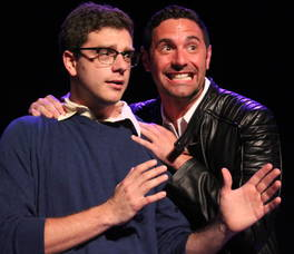 Carousel image 91728f63f2f1ac0deeb9 mike gencarelli as seymour and dan keyser as orin