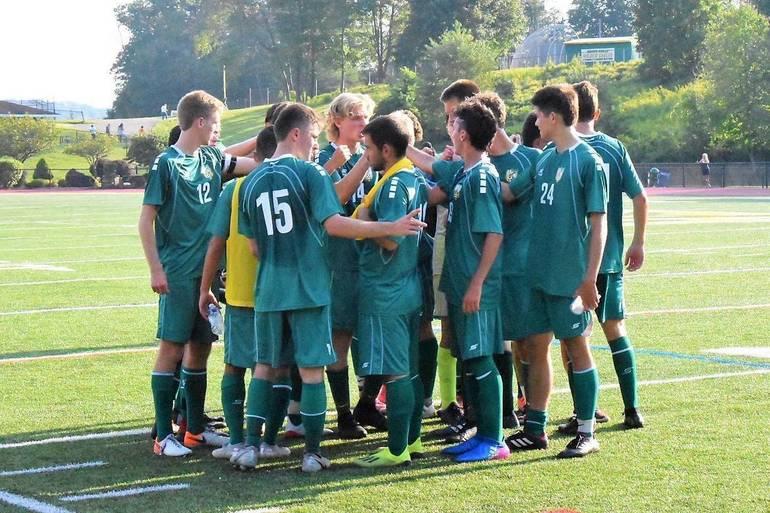 MKHS Boys Soccer Team Huddle.2019.JPG