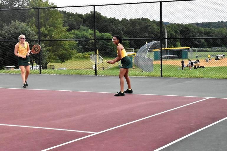 MKHS Tennis.Meghan Chegwidden and Gabrielle Thomas.JPG