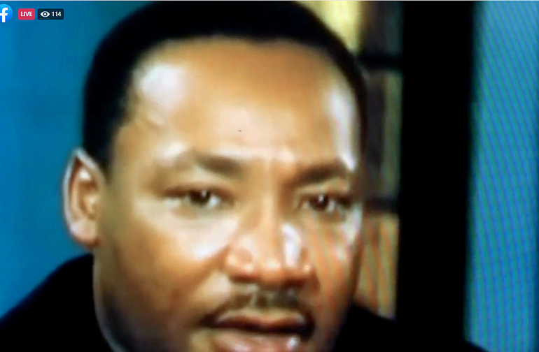 Scotch Plains-Fanwood virtual MLK Day of Service video presentation on the life of Dr. Martin Luther King Jr.