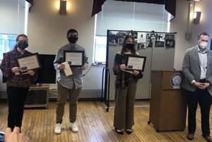 Three Hamilton Students Honored with Township MLK Scholarship Awards