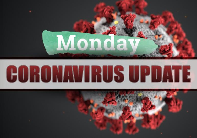 Monday covid-19 report