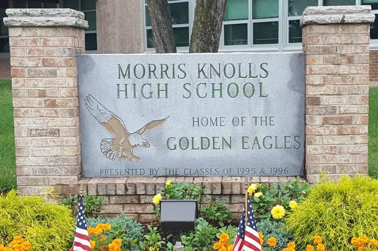 Morris Knolls High School Sign 01.jpg