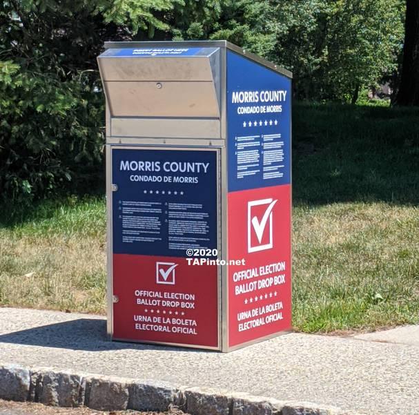 Montville Township voting drop-off ballot box ©2020 TAPinto.net.jpg