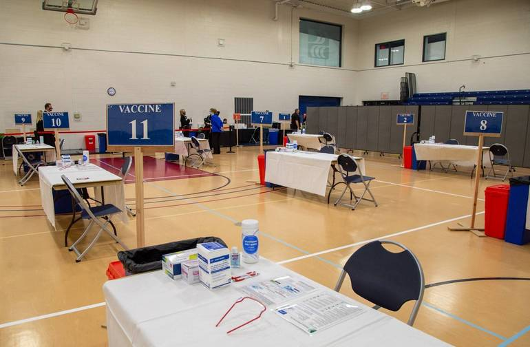 Monmouth County Opens Coronavirus Vaccine Site at Brookdale Community College