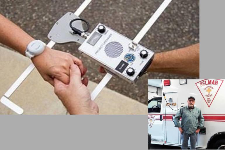 Belmar's Fran Hines Helps Track Missing Man through Project Lifesaver Program
