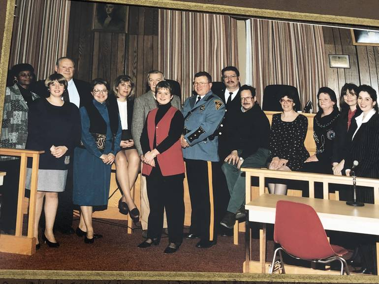 Mountainside Council and officials 1995.jpg