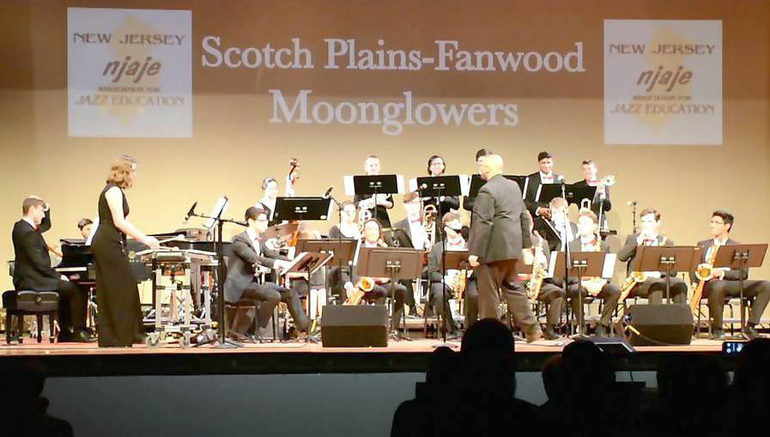 Scotch Plains-Fanwood HS Moonglowers took the top award at the NJ State competition