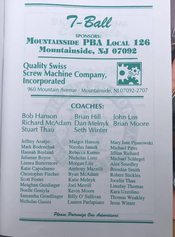 Mountainside T-Ball 1995.jpg