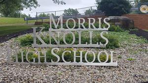 Carousel image ac765b92be176798be62 morris knolls high school sign