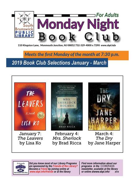 Top story 9ef9262c8a53a65576e0 monday night book club winter 2019 for promotion