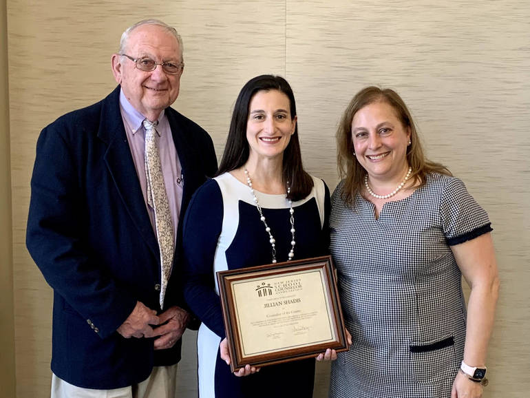 New Providence School District Director of Counseling, Jillian Shadis, named 2022 New Jersey School Counselor of the Year