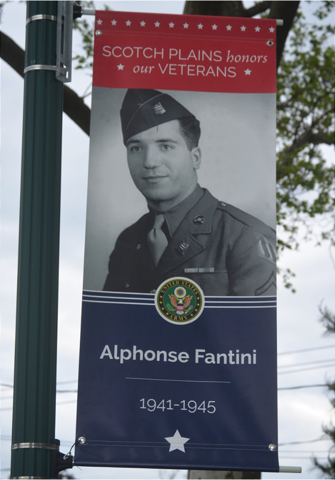 Alphonse Fantini of Scotch Plains is a WWII veteran.