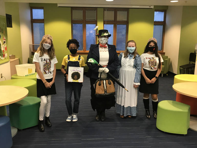 Wardlaw+Hartridge Students Embrace Literary Characters