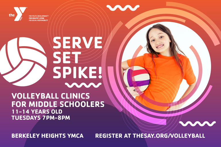 Middle School Volleyball Clinics