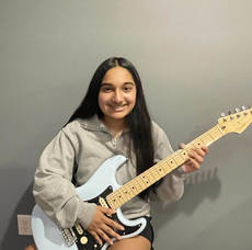 """Parsippany Middle School Student Named """"Music Student of the Month"""""""
