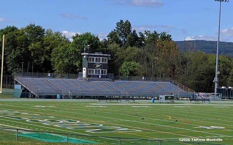 MTHS football field - graduation July 6 ©2020 TAPinto Montville.jpg